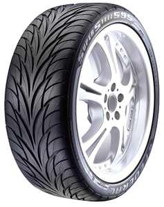 Federal SS595 High Performance Tire - 245/45R18 96W