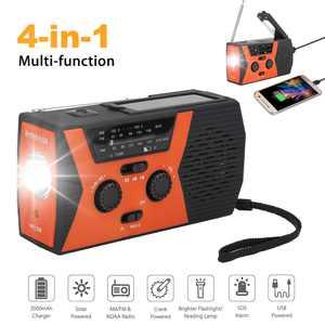 EEEkit Portable Emergency Radios, Orange, Y69