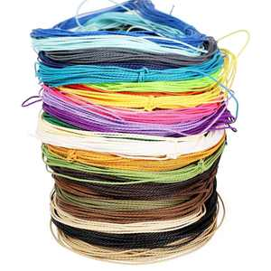 28 Packs Waxed Polyester Twine Cord, Wax Coasted Thread String for Bracelet DIY Crafts Sewing Macrame, 1mm