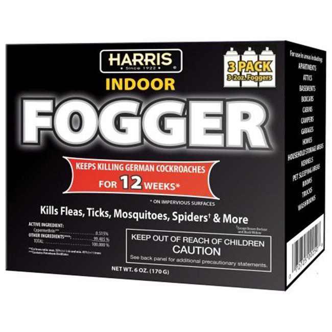 PF Harris FOG-3 Cypermethrin Fogger - Pack of 3