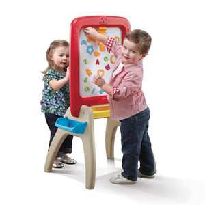 Step2 All Around Easel for Two Kids Standing Easel