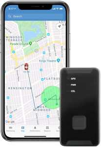 Lightning GPS Discreet 4G Cellular Micro Real-Time Portable GPS Tracker for Vehicles, Cars, Teens, Kids, Elderly, Equipment, Valuables