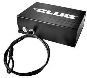 The Club PersonalVault Security Lock Box, Black