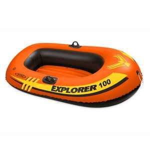 Intex Explorer 100 1 Person Youth Pool Lake Inflatable Raft Row Boat
