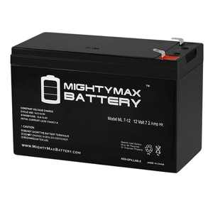 12V 7Ah Battery Replacement for Home ADT Security Alarm System