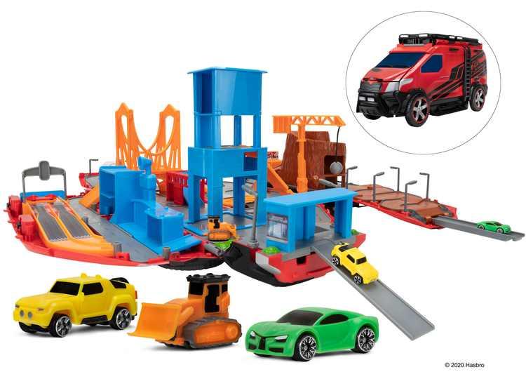 MICROMACHINES Large Playset Super Van City