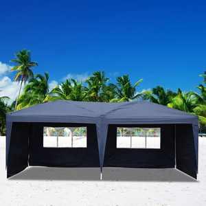Zimtown 10' x 20' Waterproof Outdoor Garden Gazebo Pop Up Party Tent Wedding Canopy