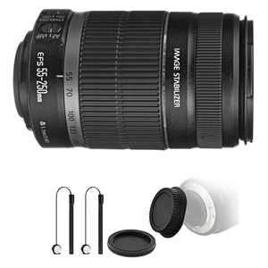 Canon EF-S 55-250mm f/4-5.6 IS II Lens for Canon SLR Cameras with Accessories