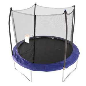 Skywalker Trampolines 10' Round Trampoline with Enclosure, Blue