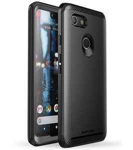 Google Pixel 3 XL Case, SUPCASE [UB Neo Series] with Built-in Screen Protector Full-Body Protective Dual Layer Armor Cover for Google Pixel 3 XL Case 2018 Release, Retail Package (Black)