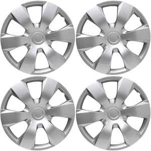 "4 Piece Set A/M Silver ABS Fits 2007 TOYOTA CAMRY 16"" Wheel Cover Hub Caps"