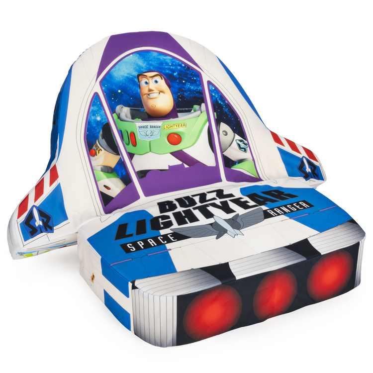 Marshmallow Furniture Kids 5-in-1 Foam Chair, Toy Story Buzz Lightyear