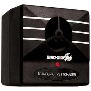 Bird-X Transonic Pest Chaser Targets Insects like Spiders Ants Cockroaches Fleas Ticks 1500 Square foot coverage