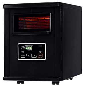 Costway 1500W Electric Portable Infrared Quartz Space Heater Remote