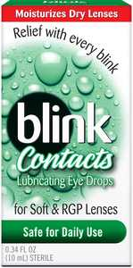 blink Contacts Lubricating Eye Drops 0.34 oz