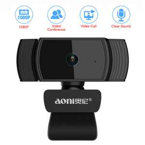 Automatic Focuse Full HD1080P Widescreen Webcam Lychee High definition 1080P Camera for TV Desktop Laptop Video Calling & Recording Built-in Mic Computer Webcam Camera