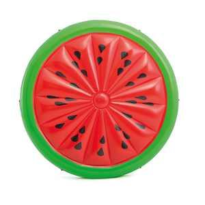 Intex Giant Inflatable 72 Inch Watermelon Island Swimming Pool Raft | 56283EP