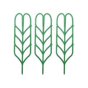 3x Plant Support Mini Climbing Frame Plants Growth Pot Garden Green