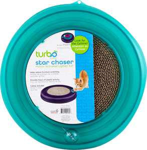 Bergan Star Chaser Turbo Scratcher Cat Toy