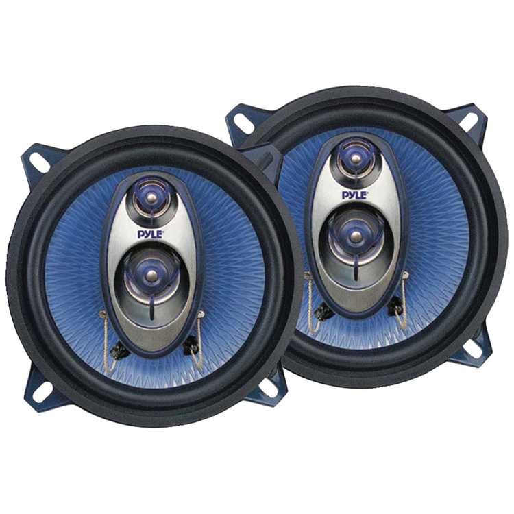 "Pyle Pl53bl Blue Label Speakers (5.25"", 3 Way)"