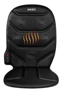 HoMedics Massage Comfort Cushion with Heat, Integrated Control for Back