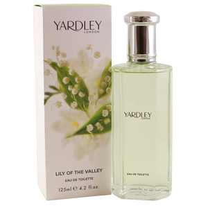 Yardley London Lily of The Valley Eau de Toilette, Perfume for Women, 4.2 Oz
