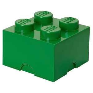 LEGO Storage Brick 4, Dark Green