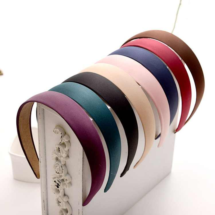 6 Pcs Wide Elastic Fashion Headbands Head Hoop Hair Accessory Headwear for Women Girls