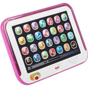 Fisher-Price Laugh & Learn Smart Stages Tablet, Pink