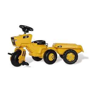 John Deere 052769 3 Wheel Tractor with Trailer