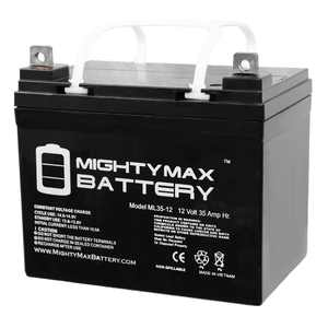 """Mighty Max 12V 35Ah Battery Replaces John Deere Lawn Tractor-Riding Mower 108"""