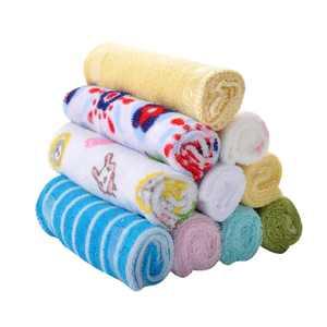 8pcs/pack Cotton Newborn Baby Nursing Towels Infant Boys&Girls Saliva Washcloth Handkerchief Burp Cloths
