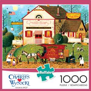 Buffalo Games - Charles Wysocki - Sugar and Spice - 1000 Piece Jigsaw Puzzle