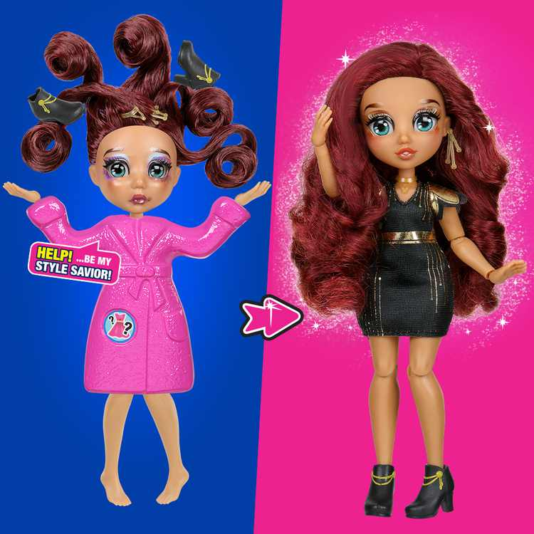 """FailFix - Loves.Glam Total Makeover Doll Pack - 8.5"""" Fashion Doll"""