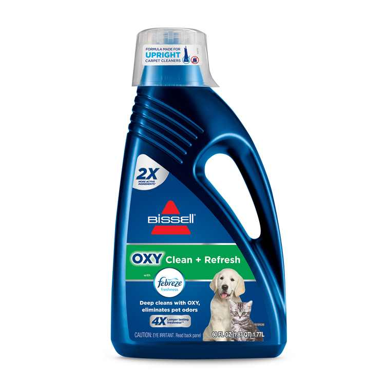 BISSELL Oxy Pet Clean + Refresh with Febreze Deep Carpet Cleaning Formula, 60 oz., 5959W