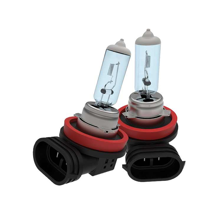 Spec-D Tuning 2X H11 4200K 12V 55W High/Low Beam Halogen Replacement Head Light Assembly Left + Right Pair