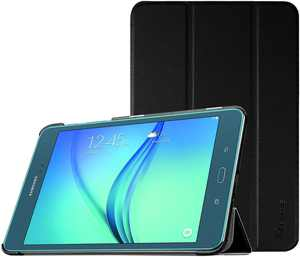 For Samsung Galaxy Tab A 8.0 Case SM-T350 2015 Model - Fintie Slim Stand Cover with Auto Sleep/Wake, Black
