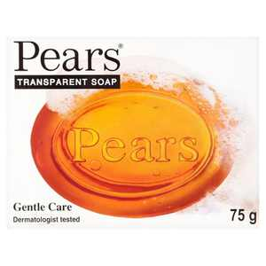 Pears Pure & Gentle Soap - 98% Pure Glycerin & Natural Oils - 75 g (Pack of 3)
