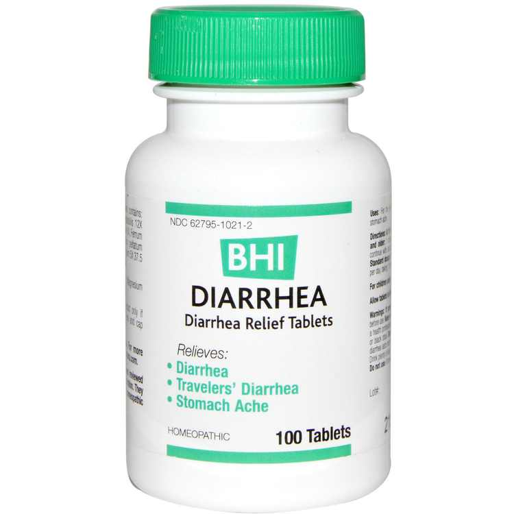 MediNatura  BHI  Diarrhea  100 Tablets