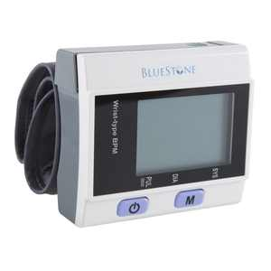 Bluestone Automatic Wrist Blood Pressure Monitor, Digital LCD Display Screen & Adjustable Wrist Cuff
