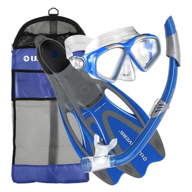 Cozumel Sea Breeze Gear Bag, Blue, Medium
