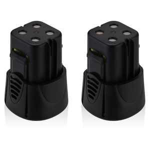 Powerextra 2-Pack 4.8V 3000mAh Replacement Battery for Dremel 7300 755-01 MiniMite Dremel Power Tools Batteries