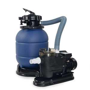"""XtremepowerUS 13"""" Sand Filter with 3/4HP Pool Pump 4-Way Valve Above Ground Pool Set with Stand Kit"""