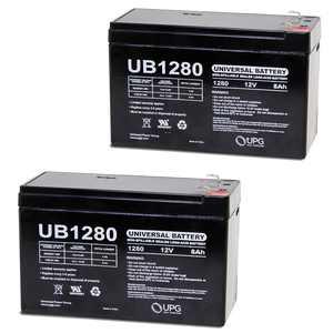 """""""UPG 12V 8Ah Battery for Razor MX350 MX400 Electric Dirt Bike - 2 Pack"""""""