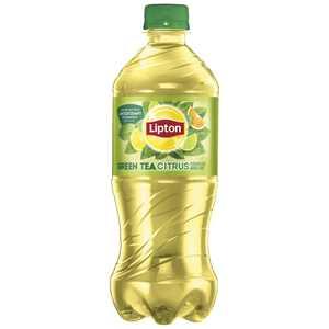 Lipton Green Tea Citrus Iced Tea, 20 oz Bottle