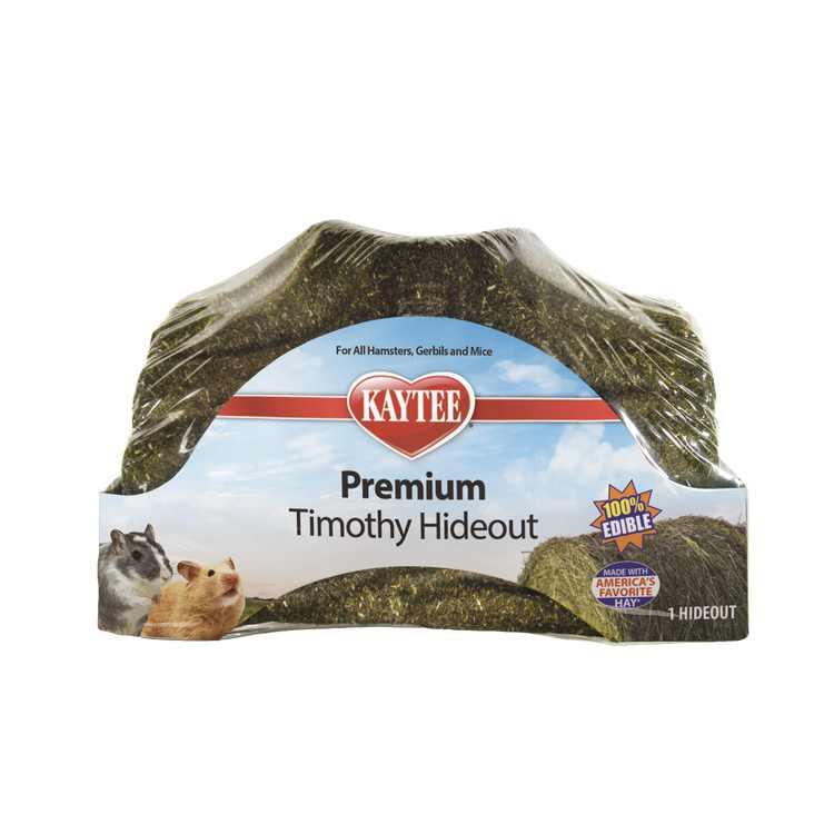Kaytee Premium Timothy Hideout Small Animal Treat Small