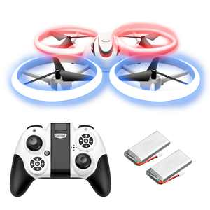 Mini Drone for Kids and Beginners - LED Drone, RC Nano Pocket Quadcopter, Easy to Fly for Boys and Girls, Auto Hovering, 3D Flips, One Key Return, Long Flight Time & Long Control Range
