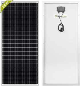Newpowa 100 Watt Monocrystalline solar panel