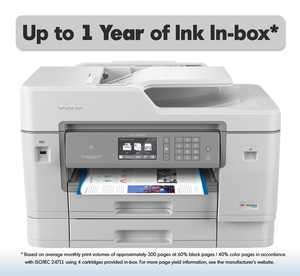Brother MFC-J6945DW INKvestment Tank Color Inkjet All-in-One Wireless Printer