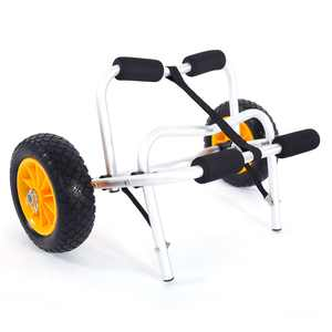 Zimtown Foldable Kayak Dolly Cart Carrier Boat Canoe Trolley Trailer Paddle Board Wheels